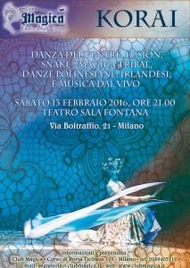 locandina-sito-korai-13-febbraio-2016-spettacolo-club-magica-milano-teatro-sala-fontana